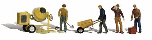 Woodland Scenics HO A1901 Masonry Workers