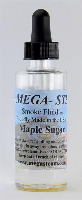 JT's Mega Steam O/HO MAPLESUGAR Smoke Fluid 2 Oz. Bottle, Maple Sugar
