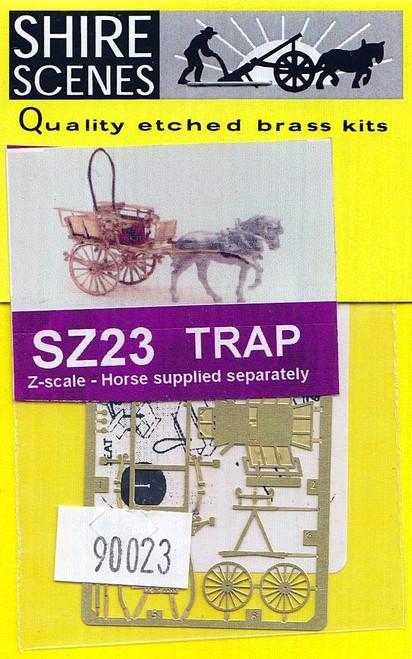 N Scale Architect Z 90023 Shire Scenes (SZ23) Trap Kit (d)
