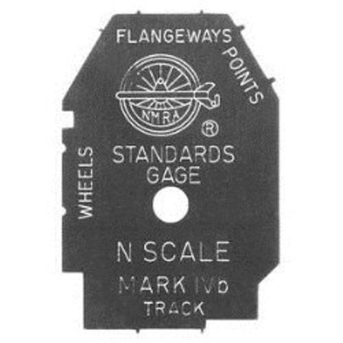 NMRA 98-8 Standards Gauge, N Scale