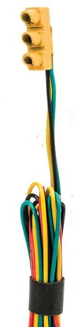 Walthers SceneMaster HO 949-4366 1960s-Style Traffic Lights, Single-Sided Hanging (with LED Lighting)