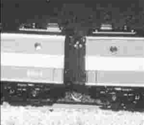 American Limited N 8900 Operating Diaphragms for PA or PB Diesels, Undecorated Gray (Enough for 4 As, 2Bs or an ABA Set)