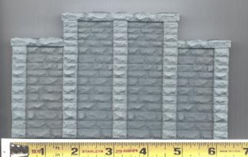 Chooch HO 8400 Cut Stone Stepped Wall Abutment