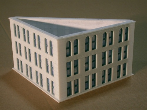 Custom Model Railroads N 014 The Gas and Electric Building Add-On Kit