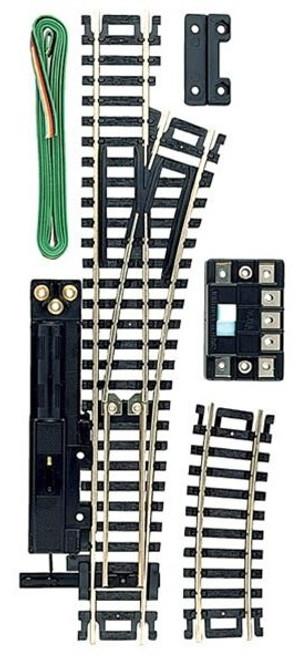 Atlas HO 851 Code 100 Right Remote Snap-Switch Track