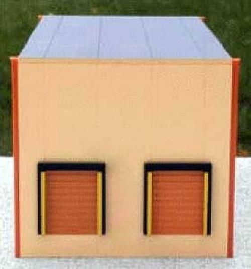 Herpa HO 006320 Modern 2-Bay Warehouse Kit (Sand)