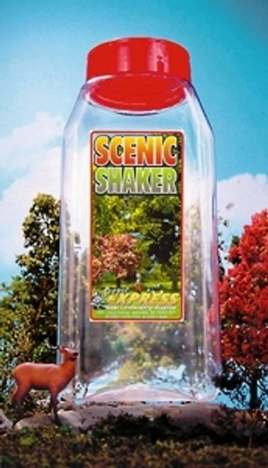 Scenic Express EX0226 Empty Shaker Bottle with Labels (32 oz.)