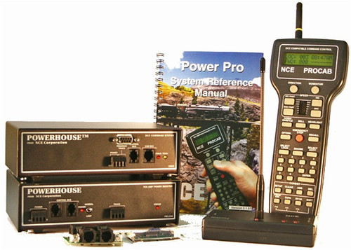 NCE 524007 (PH-10R) Power House Pro 10 Amp Starter System with Radio (d)
