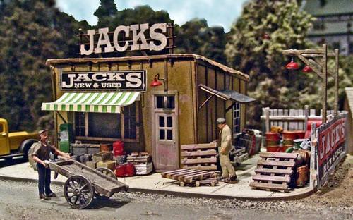 Bar Mills Scale Model Works HO 0542 Jack's Backyard Kit