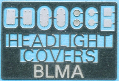 BLMA N 72 Removed Head Light Cover Patches (5 Styles)