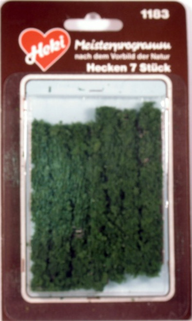 "Heki Trees and Shrubs 1183 Hedge Row Dark Green (2"")"