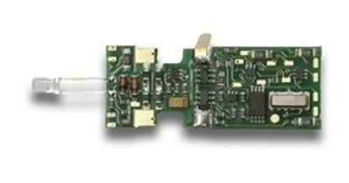 Digitrax N DN163M0 DCC Plug-N-Play Mobile Decoder for Micro-trains FT Locomotive (6 FX3 Functions, 0.5 Amp)