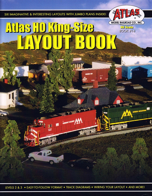 Atlas HO King-Size Layout Book, Book #14