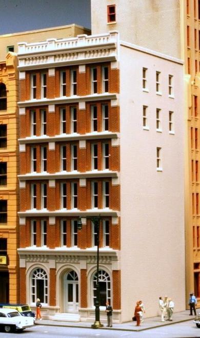 Lunde Studios HO 31 City Trust Building Kit