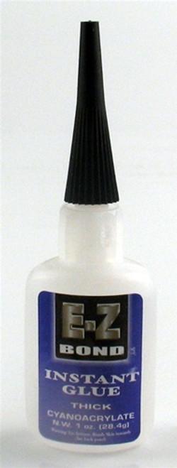 E-Z Bond Instant Glue Thick 1 oz.
