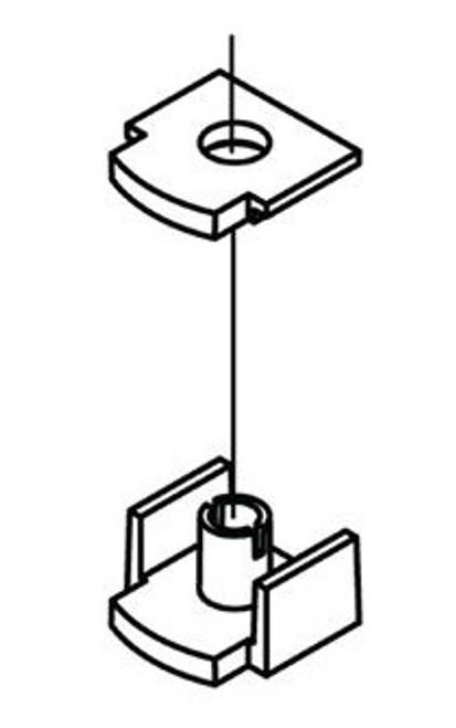 4 Stück Druckfeder für Druckbett Extruder 3D Drucker Druckbettfeder Feder