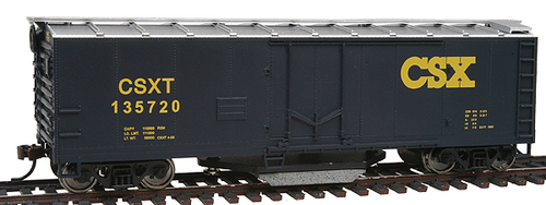 Walthers Trainline HO 931-1754 40' Track Cleaning Box Car, CSX #135720