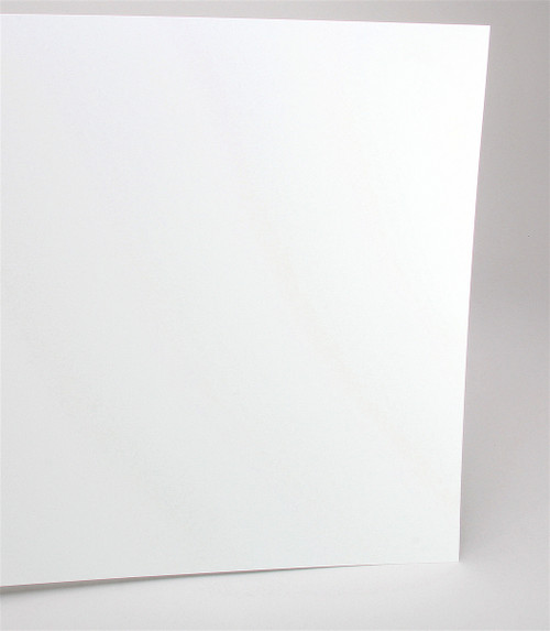 "Evergreen Scale Models 19015 12"" x 24"" Plain White Sheet .015"" (1)"