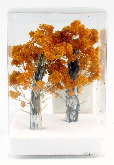 "Grand Central Gems T54 Medium Fall Birch Trees, 5-6"" (2)"