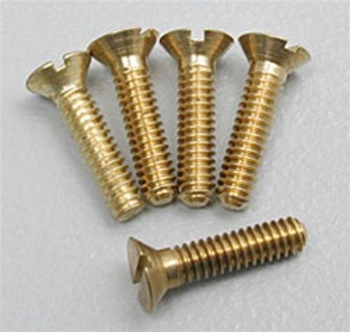 "Hob-Bits H851 Flat Head Screws Size: 1-72 Length: 3/8"" (5-Pack)"