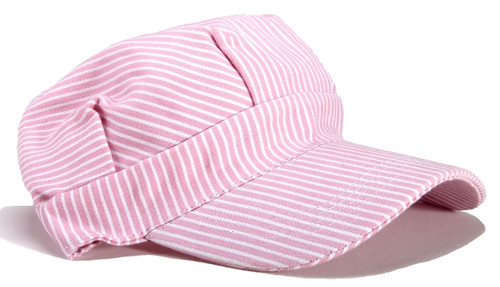 Brooklyn Peddler 00059 Engineer Train Hat, Child (Adjustable Pink)