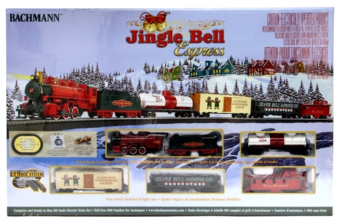 Bachmann HO 00724 Jingle Bell Express Train Set