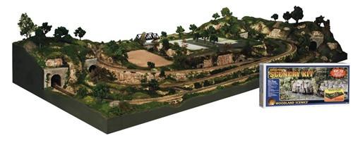 Woodland Scenics HO S1488 River Pass Scenery Kit #2
