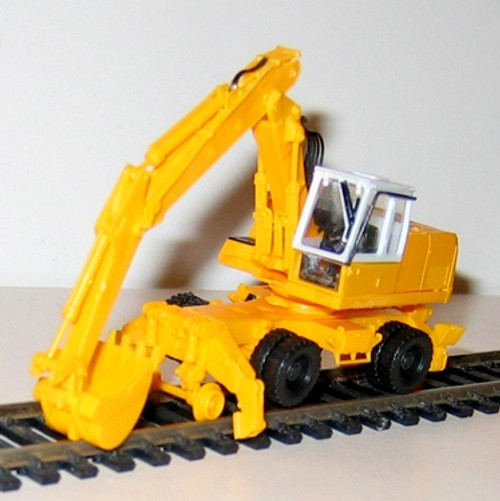N.J. International HO 6107 Railroad Backhoe Kit