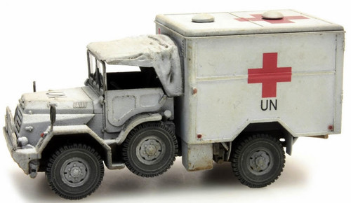 Artitec HO 387.195 Dutch DAF YA 126 Red Cross Truck UNIFIL