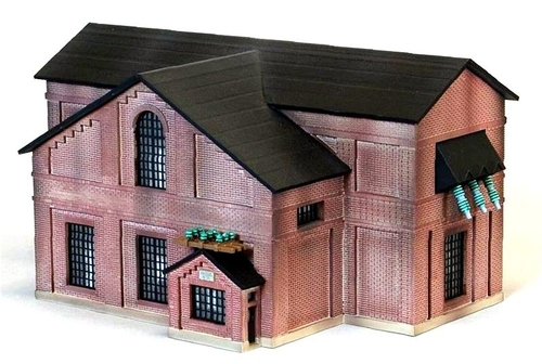 Custom Model Railroads HO 090 Substation #12 Kit