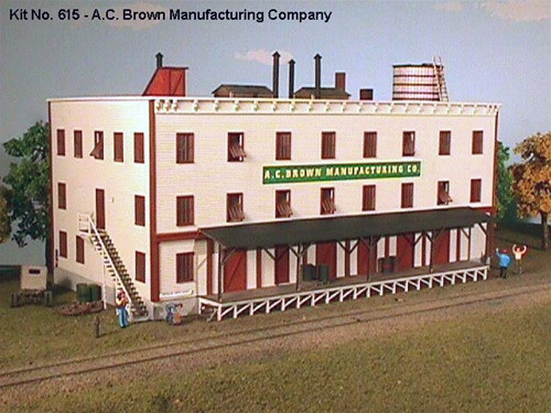 American Model Builders N 615 A.C. Brown Manufacturing Company Kit