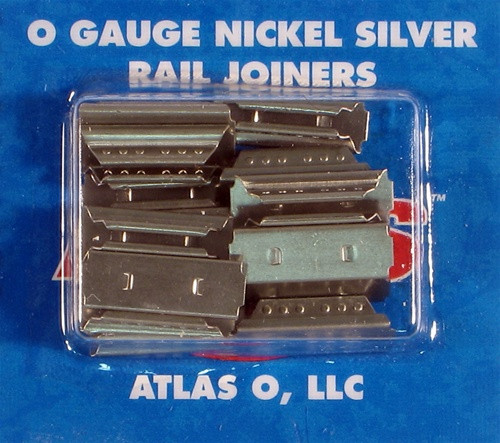 Atlas O 6091 Nickel Silver Rail Track Joiners (16)