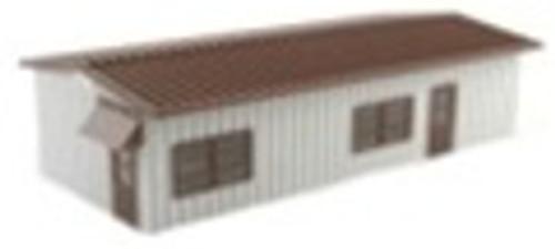 BLMA HO 4300 Built-Up Modern Yard Office