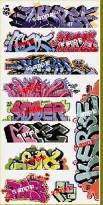 Blair Line N 1257 Graffiti Decals Mega Set #8