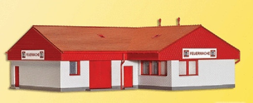 Kibri HO 39220 Fire Department Administration Building Kit