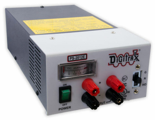 Digitrax PS2012E 20 AMP N, HO, G Regulated Power Supply