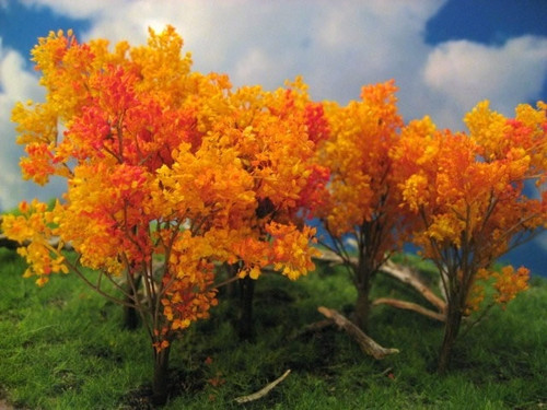 "Grand Central Gems T21 Fall Oak Trees, 4-6"" (6)"