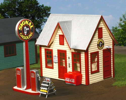 American Model Builders O 492 All-American Gas Station Kit