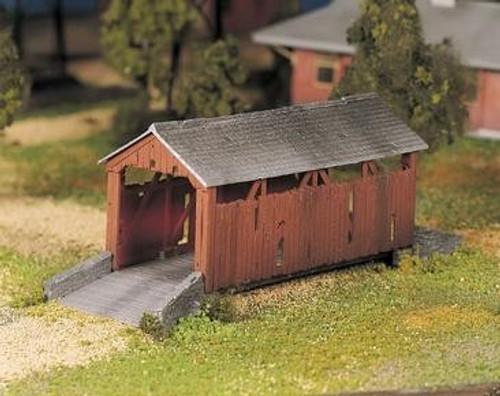 Bachmann Plasticville O 45992 Covered Bridge Kit