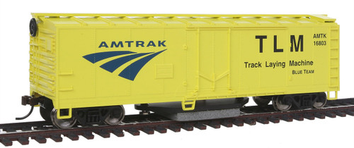 Walthers Trainline HO 931-1480 Track Cleaning Box Car, Amtrak