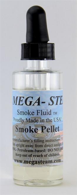 JT's Mega Steam O/HO SMOKE Smoke Fluid 2 Oz. Bottle, Smoke Pellet