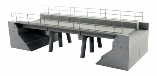 BLMA HO 4390 Modern Concrete Segmental Bridge Kit, Set A (Ends and Segments)