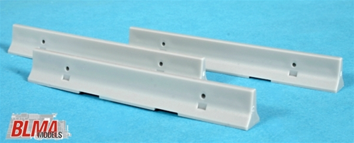 BLMA N 610 Concrete 'K-Rail' Barriers (12 pieces)