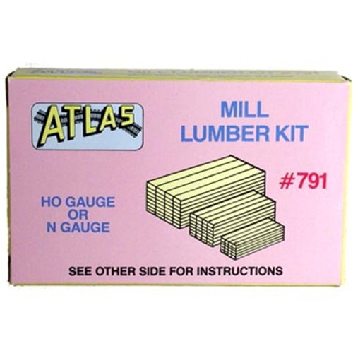 Atlas HO 791 Stacked Mill Lumber