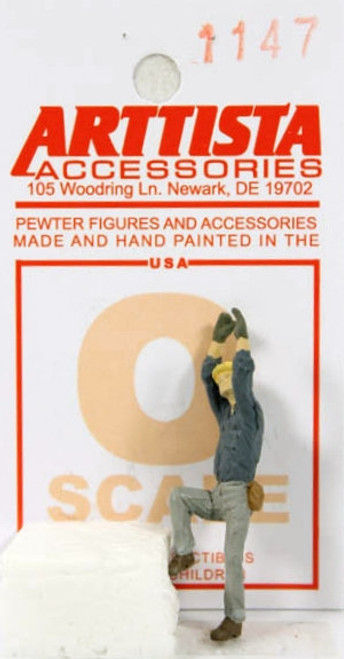 Arttista Accessories O 1147 Telephone Lineman Climbing