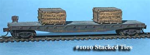 Fine N Scale 1010 Stacked Railroad Ties (9)