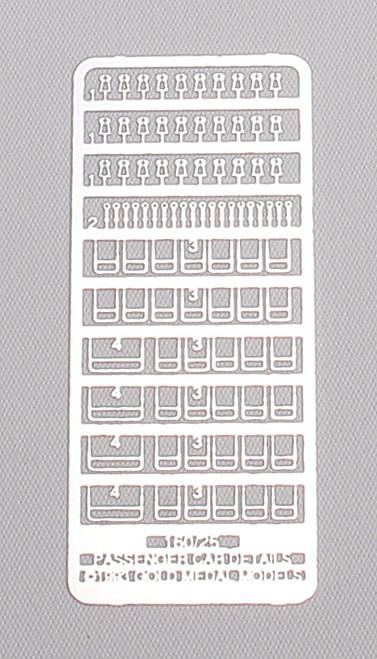 Gold Medal Models N 160-26 Kato Smoothside Passenger Car Details (Enough for 8 Cars)