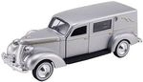American Heritage Models O 43-104 1937 Studebaker Hearse (Silver)