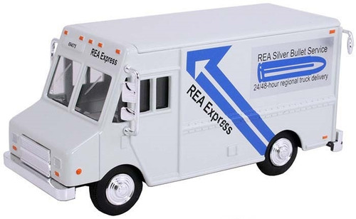 American Heritage Models O 48003 Delivery Step Van, REA Express (White)