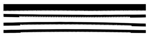Excel 20570 Assorted Coping Saw Blades (4) (d)